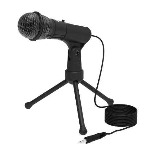 Микрофон Ritmix RDM-120, черный