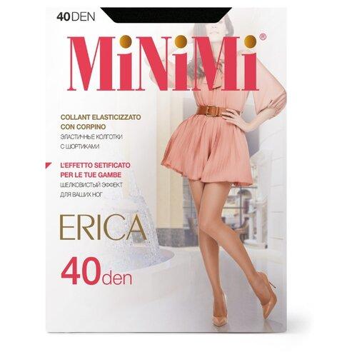 Колготки MiNiMi Erica 40 den, размер 4-L, nero (черный) колготки minimi vittoria 40 den размер 4 l nero черный
