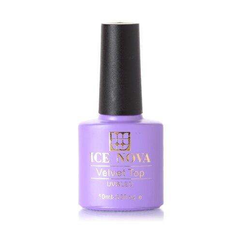 Купить ICE NOVA верхнее покрытие Velvet Top 10 мл прозрачный