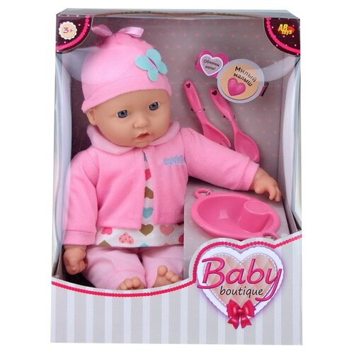 Купить Кукла ABtoys Baby boutique, 40 см, PT-00958, Куклы и пупсы