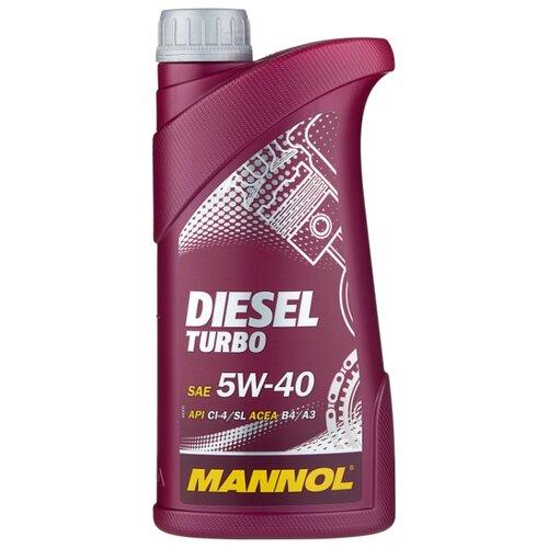 Моторное масло Mannol Diesel Turbo 5W-40 1 л