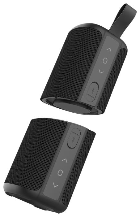 Портативная акустика Z MusicDealer Double Beef Dark Grey black
