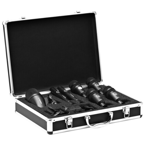 Комплект микрофонов AKG Drum Set Session, черный