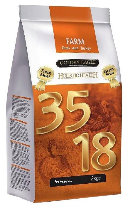 Корм для собак Golden Eagle Holistic Health Farm Duck and Turkey 35/18