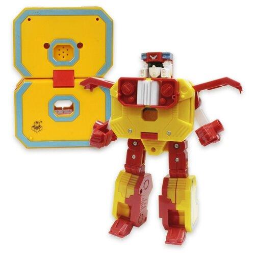 Купить Трансформер 1 TOY Трансботы XL Боевой расчет - 8 - Октонатор желтый, Роботы и трансформеры