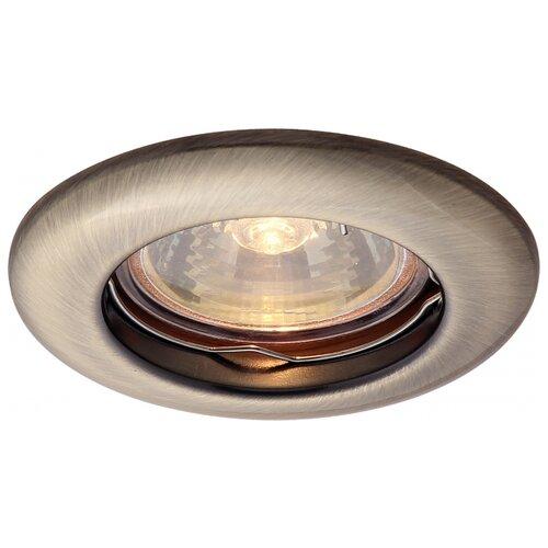 Встраиваемый светильник Arte Lamp A1203PL-1AB встраиваемый светильник arte lamp a1203pl 1go