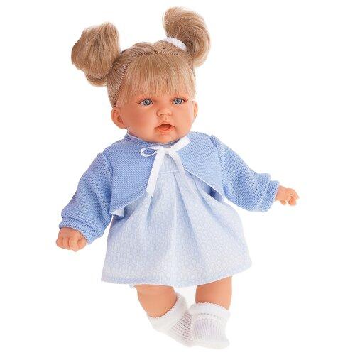 Купить Интерактивная кукла Antonio Juan Дели в голубом 27 см 1222B, Куклы и пупсы
