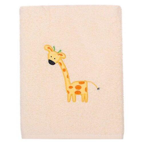 Kidboo Полотенце Жирафик банное 70х100 см бежевыйПолотенца<br>