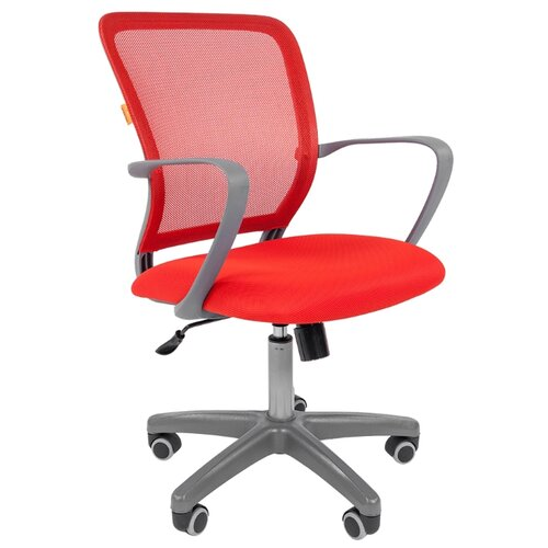 Компьютерное кресло Chairman 698 офисное, обивка: текстиль, цвет: gray/TW-69 цена 2017
