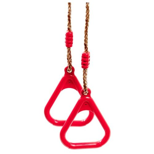 Гимнастические кольца KETT-UP BG07, красный