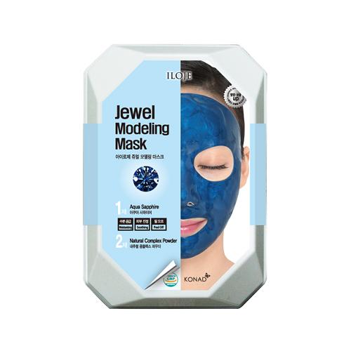 Купить Konad Моделирующая альгинатная маска с сапфировой пудрой для ровного красивого тона лица Iloje Jewel Modeling Mask, 55 г
