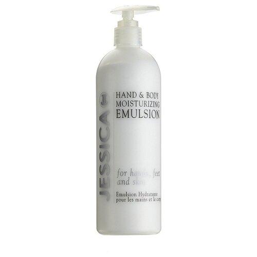 Эмульсия для тела Jessica Hand&Body Moisturizing Emulsion увлажняющая с пантенолом, 458 мл глубоко увлажняющая эмульсия calranico deep moisturizing aqua emulsion