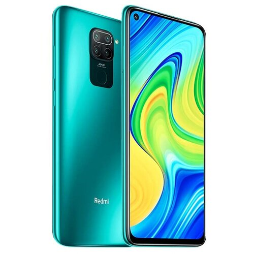 Смартфон Xiaomi Redmi Note 9 4/128GB (NFC) зеленый