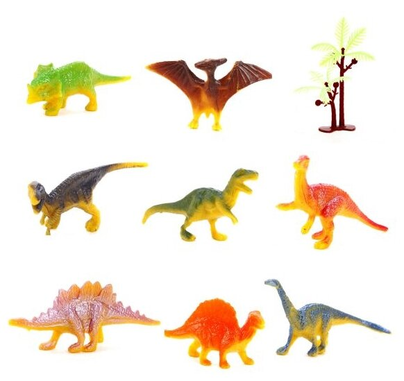 Фигурки Shantou Gepai Динозавры HS001