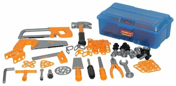 Полесье Набор инструментов №9, 156 элементов (в контейнере) (54982)