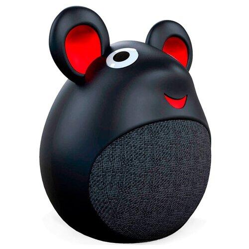 цена на Портативная акустика INTERSTEP SBS-420 Little Mouse черный