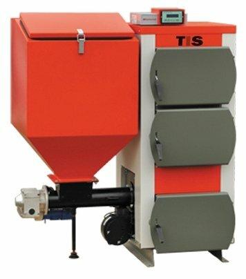 Твердотопливный котел TIS EKO 55 55 кВт одноконтурный