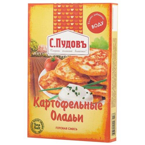 С.Пудовъ Мучная смесь Оладьи картофельные, 0.25 кг бейкервилль смесь мучная оладьи