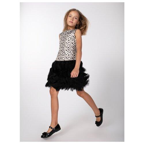 Купить Платье Смена размер 134/64, черный, Платья и сарафаны