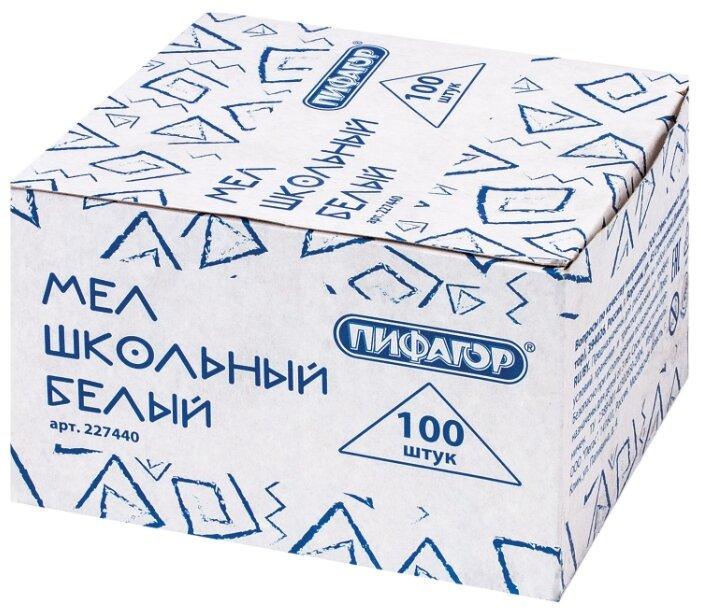Пифагор Мел школьный (227440) 100 шт