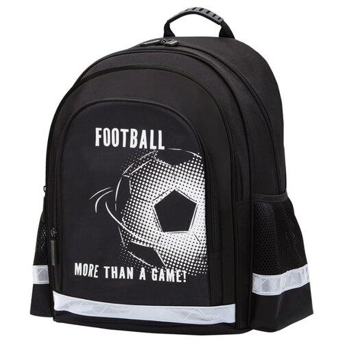 Купить Berlingo рюкзак inStyle+ Football, черный, Рюкзаки, ранцы