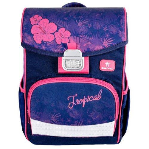Купить Belmil Ранец Click Flamingo (405-45/779) фиолетовый/розовый, Рюкзаки, ранцы