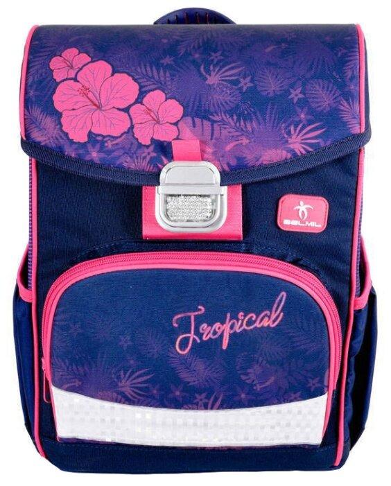 Belmil Ранец Click Flamingo (405-45/779) фиолетовый/розовый