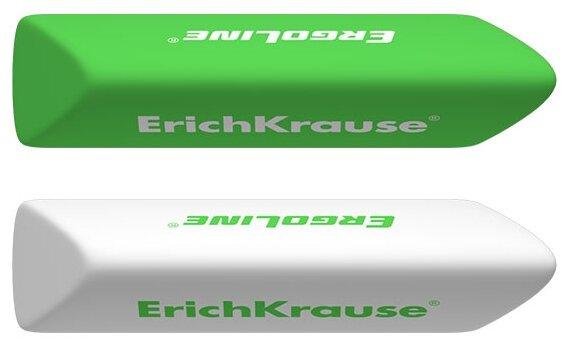 ErichKrause Набор ластиков ErgoLine Prism, 2 шт