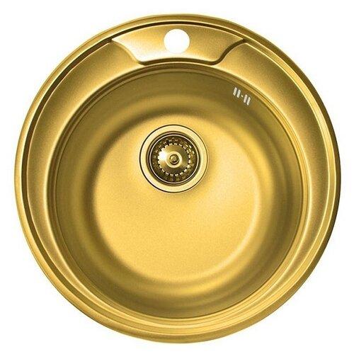 Фото - Врезная кухонная мойка 51 см ZorG SZR-510 XL-BRONZE бронза врезная кухонная мойка 78 см zorg szr 78 2 51 r bronze бронза