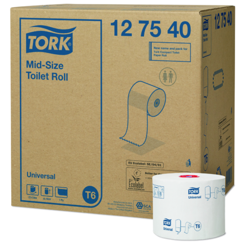 Туалетная бумага TORK Universal 127540 27 рул. туалетная бумага tork universal 120195 1 рул