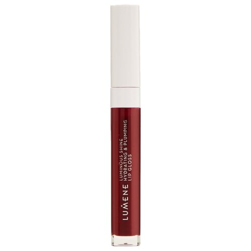 Lumene блеск для губ Luminous Shine Hydrating & Plumping Lip Gloss, 10 fresh plum clarins eclat minute блеск для губ 08 plum shimmer
