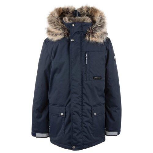 Купить Парка KERRY Jako K20468 размер 134, 229 темно-синий, Куртки и пуховики