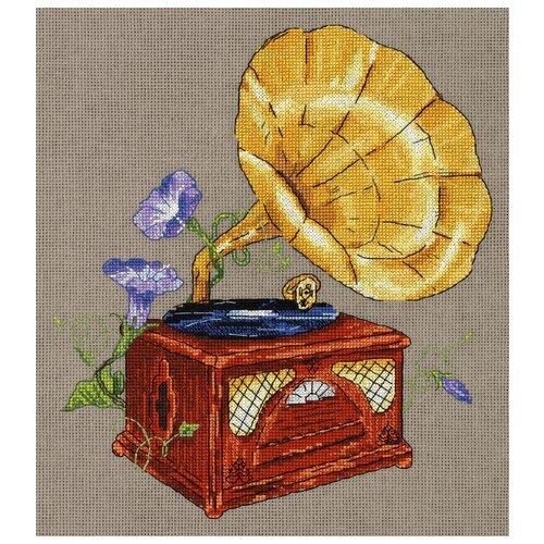 Купить PANNA Набор для вышивания Мелодия сада. Граммофон 24 х 27 см (RE-7162), Наборы для вышивания