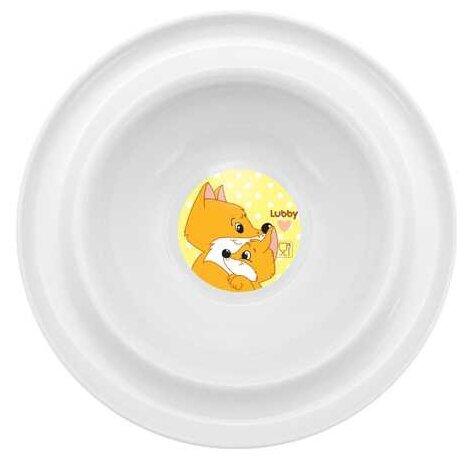 Тарелка Lubby Веселые животные (13954)