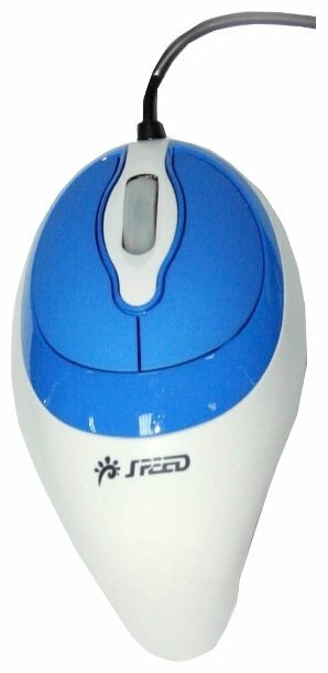 Мышь SPEED SPMS-60 White-Blue USB