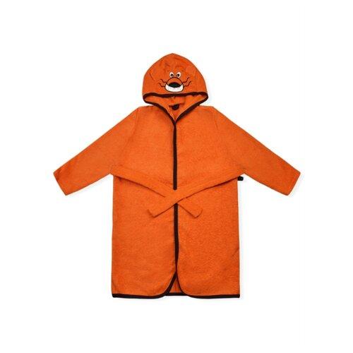 Халат LEO размер 104-110, оранжевый