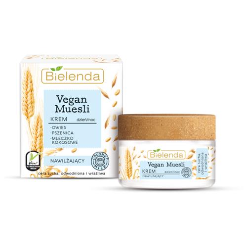 Фото - Bielenda Vegan Muesli Увлажняющий крем для лица пшеница+ овёс+кокосовое молоко, 50 мл bielenda bikini кокосовое