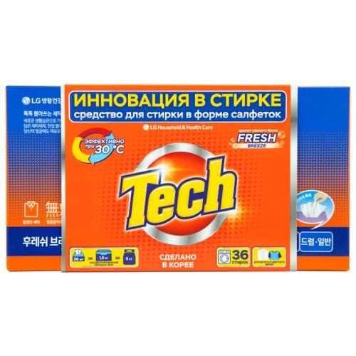 Фото - LG H&H салфетки Tech Revolution Свежий аромат (автомат), картонная пачка, 36 шт h 108752