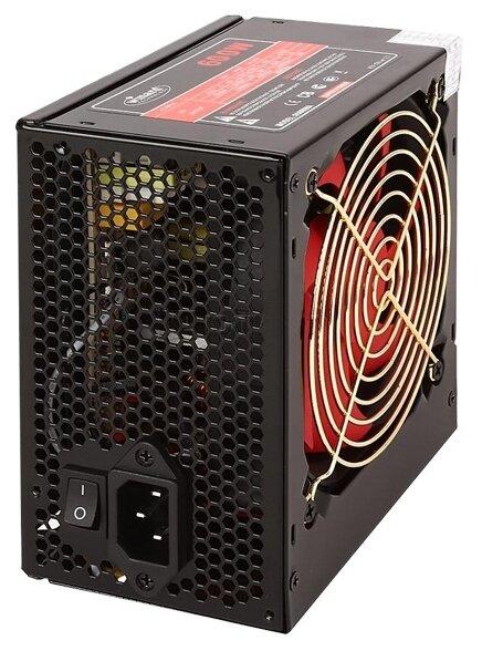Блок питания Winard 600W (600WA12) ATX, 12cm fan, 20+4pin +4Pin, 3*SATA, 1*FDD, 4*IDE , 6Pin оплетка, черный