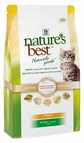 Корм для котят Hill's Nature's Best с курицей