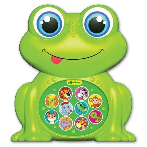 Купить Развивающая игрушка Азбукварик Зверята-малышата Лягушонок зеленый, Развивающие игрушки