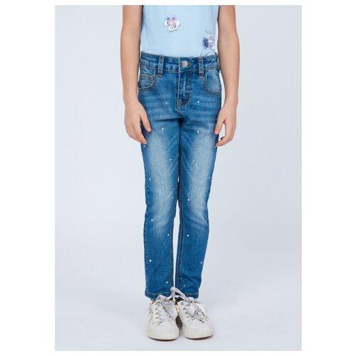 Фото - Джинсы Zarina размер 116, голубой джинсы zarina 0328465765 101
