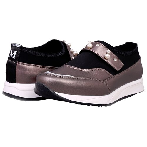 Туфли T.Taccardi размер 35, серебристо-серыйБалетки, туфли<br>