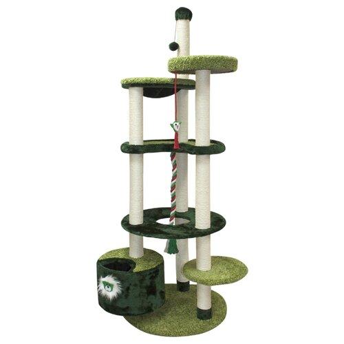 Игровой комплекс Зооник 22219 96 х 84 х 221 см зелeный игровой коврик dwinguler medium 12 dino land двусторонний 190 х 130 см