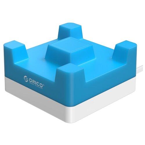 Купить Сетевая зарядка ORICO CHA-4U синий