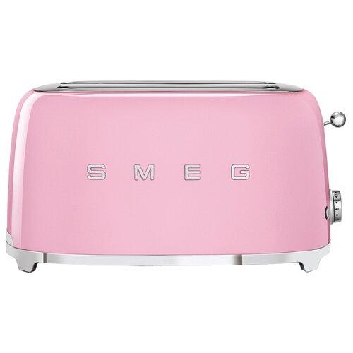 Тостер smeg TSF02PKEU, розовый