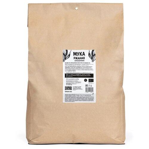 Мука Чёрный хлеб ржаная цельнозерновая, 5 кг мука гарнец гороховая 0 5 кг