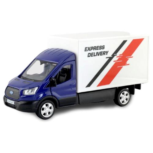 Купить Грузовик RMZ City Ford Transit Chassis Cab 2018 (554042) 1:43 синий, Машинки и техника