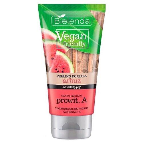 Фото - Bielenda Vegan friendly Скраб для тела Арбуз, 200 мл косметика для мамы bielenda exotic paradise сахарный скраб для тела увлажняющий дыня 350 г