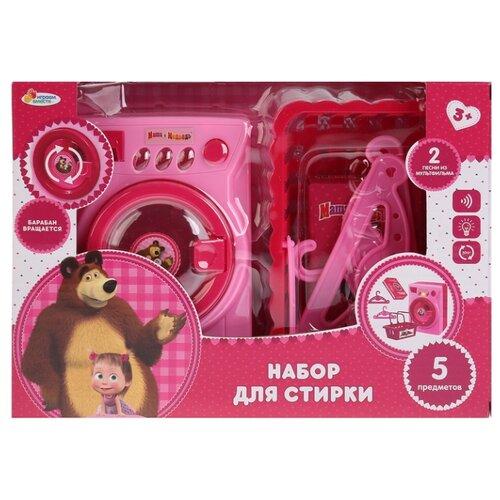 Купить Игровой набор Играем вместе Маша и Медведь B1120032-R розовый, Детские кухни и бытовая техника